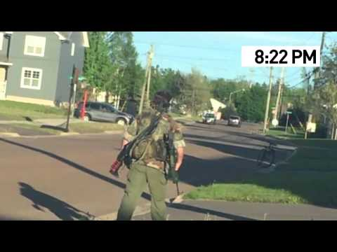 Justin Bourque MONCTON SHOOTING police story