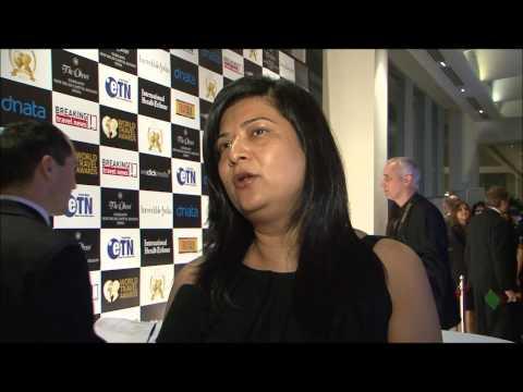 Seema Pande, group director, sales & marketing, Emaar Hospitality Group, at World Travel Awards