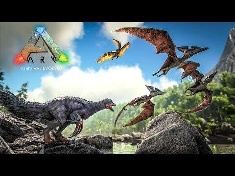 ARK: Survival Evolved - ОСЕДЛАЛ ЛЕТАЮЩЕГО ПТЕРАНОДОНА И ПУТЕШЕСТВУЮ ПО ОСТРОВУ!! (ARK Ragnarok)