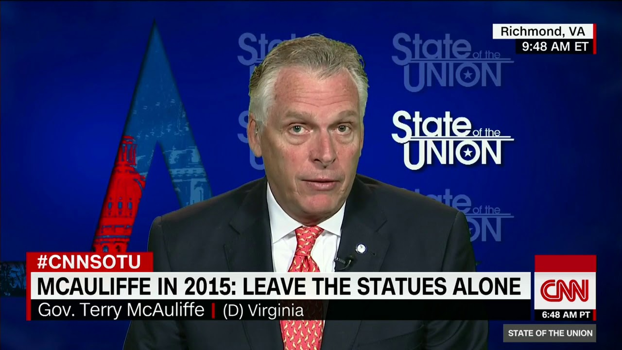 Virginia governor McAuliffe slams Trump's Arpaio pardon