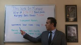 """January 21, 2019 - """"Mortgage Minute"""" - TWIM - Weekly Rate Update & """"Transparent Markets"""""""