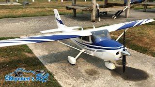Top Flite Cessna 182 Skylane RC Plane Scale Flight With A Few Tricks