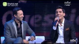 Arab Idol - محمد عساف يغني جزائري و ليبي