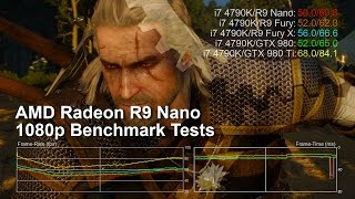 AMD Radeon R9 Nano 1080p Benchmarks vs Fury X/Fury/GTX 980 Ti/GTX 980