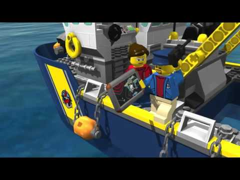 LEGO - City My City - Mission: Submarine ... gameplay/walkthrough... Free game on android