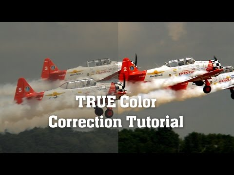 Color Correction Tutorial [The RIGHT way!] - After Effects Tutorial