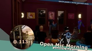 LIVE from [BETA] 114 Harvest: Open Mic Morning @ 113
