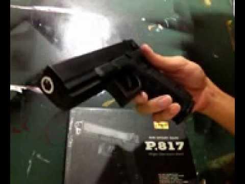 รีวิว ปืนอัดลม (GLOCK 18C)