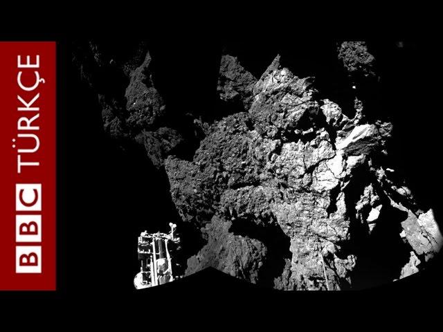 Kuyruklu yıldıza inen Philae şimdi ne yapacak? - BBC TÜRKÇE