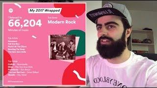 Spotify: My 2017 Wrapped!