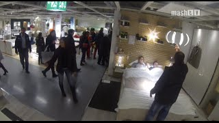 Living @ IKEA || PRANK VIDEO || Versteckte Kamera