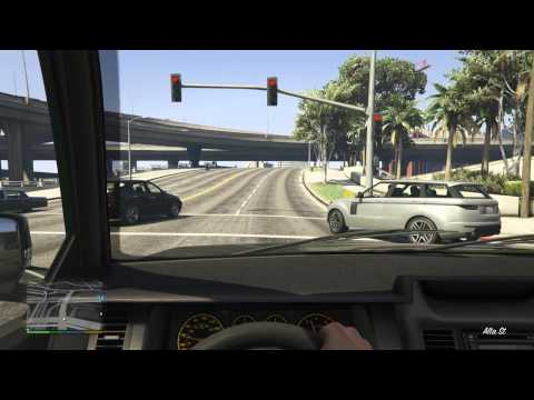 GTA 5 Next Gen FIRST PERSON Cadillac Escalade Albany