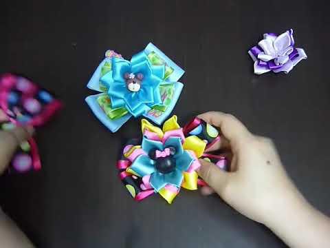 Manualidades y accesorios la hormiga. como hacer una flor en citas. video No.108