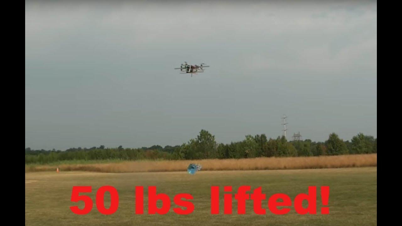 Quad Heavy Lift Heavy Lift 50lbs 22.7kg 685mm