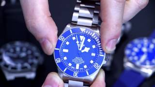 Tudor Pelagos Black 25600TN & Blue 25600TB Watches With In-House MT5612 Movement Hands-On