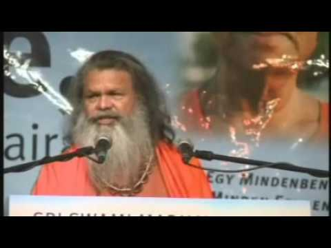 World Peace Summit 2009 - Swamijis Speech Part 1