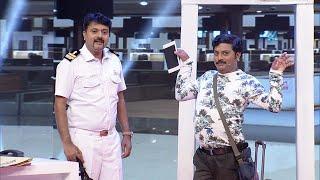 Thakarppan Comedy l Funfilled Airport scenes... l Mazhavil Manorama