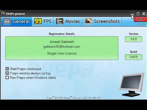 Configuración Fraps [TUTORIAL] - Compatible con Directx y OpenGl - Windows 7 - Windows 8
