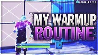 My Super Easy Warmup Routine! (Fortnite)