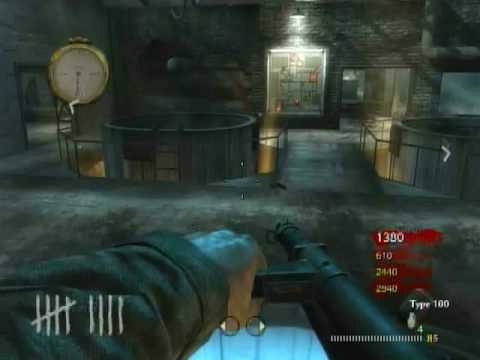 Nazi zombies - Der Riese gameplay