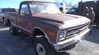1968 Chevy 4X4 C20 Custom Longbed Pickup