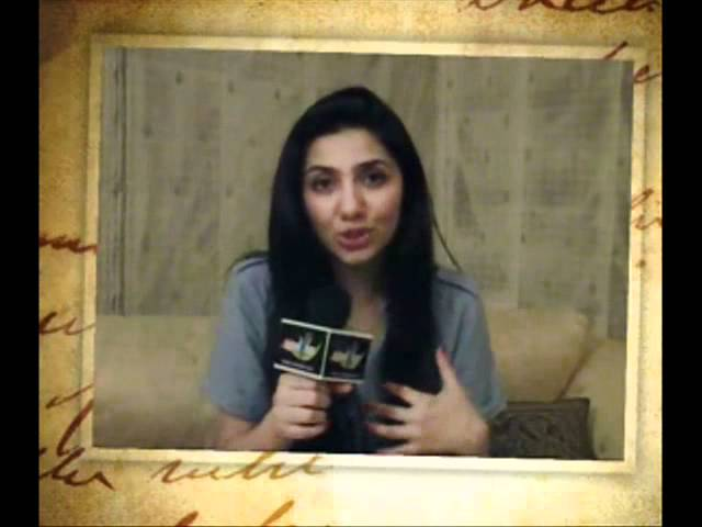 Interview of Mahira Khan about BOL (Promo)