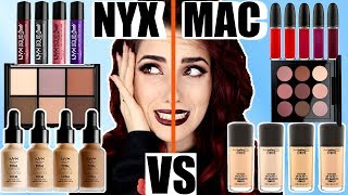 NYX VS. MAC 😱I Drogerie High End Vergleich Dupes I Was ist besser? Luisacrashion