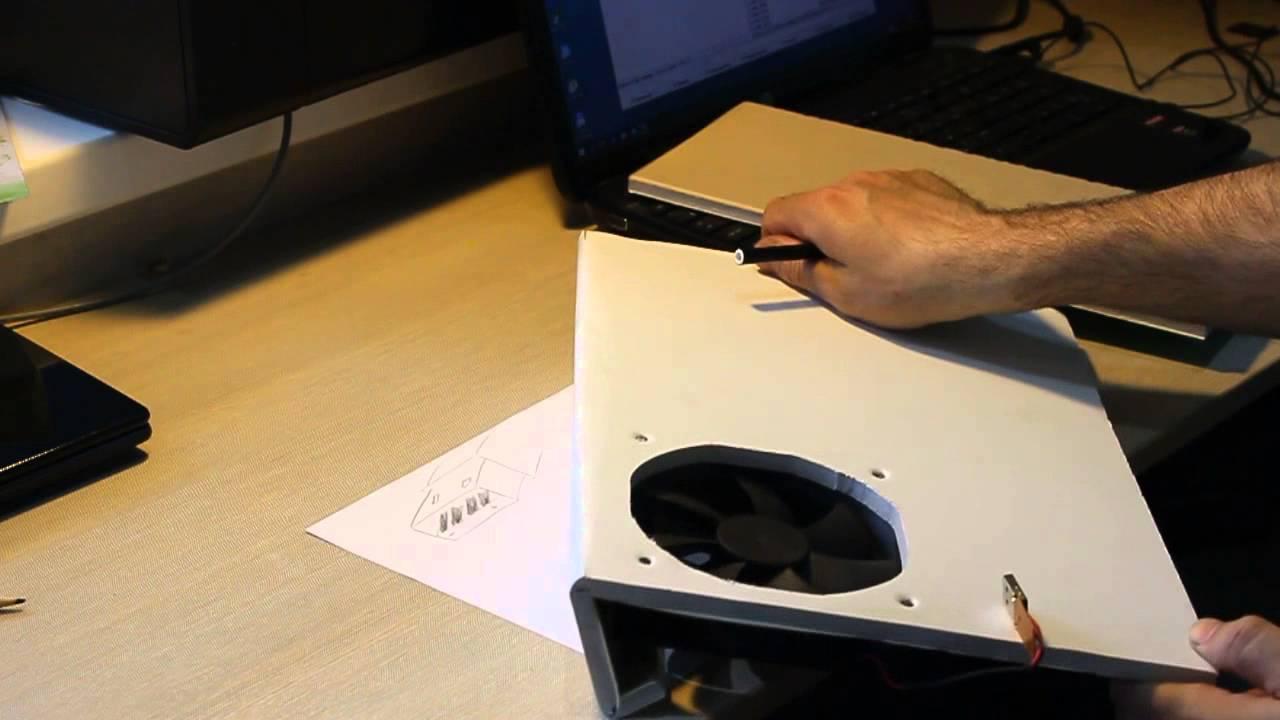 Как своими руками сделать охлаждающую подставку для ноутбука своими руками
