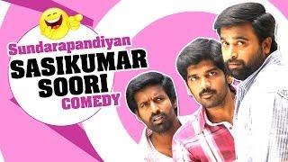 Sundarapandian - Sundarapandian | Tamil Movie Comedy | Sasi Kumar | Inigo Prabhakaran | Lakshmi Menon | Soori