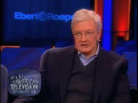 Roger Ebert on Film Criticism - EMMYTVLEGENDS.ORG