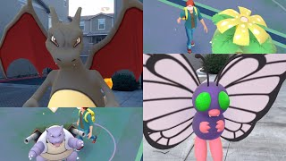 1-20 Pokémon Go Buddy Walking Animations and AR+ Demonstration