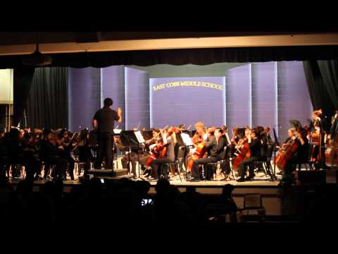 East Cobb Middle School 8th Grade Spring Orchestra Concert