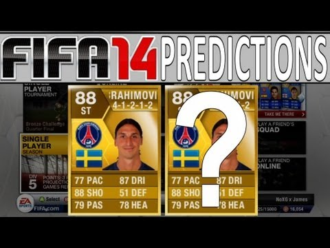 Fifa 14 Ultimate Team Prediction - Zlatan Ibrahimovich