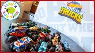 NEW TOY SNEAK PEAK?! Hot Wheels MONSTER TRUCKS! Cars for Kids!