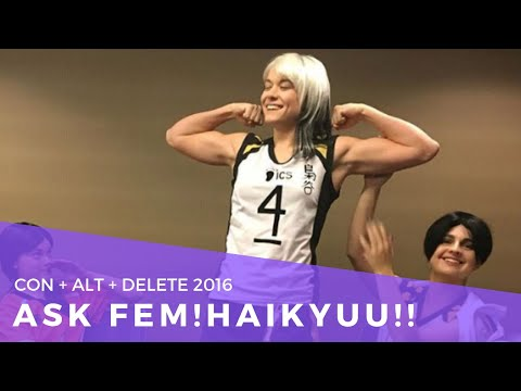 Ask Fem!Haikyuu!! - CAD 2016