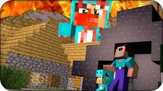 RETO BASE NOOB VS BEBE MILO .EXE 🔥😮 MINECRAFT ROLEPLAY WHO'S YOUR DADDY con VITA