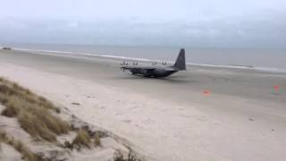 C130 Hercules Beach Takeoff