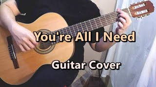 You're All I Need - White Lion (Guitar Cover)