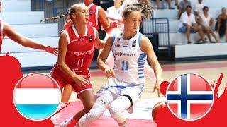 Люксембург до 18 (Ж) : Норвегия до 18 (Ж)