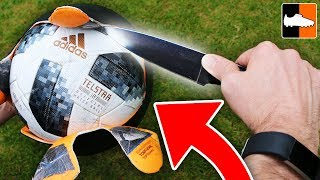 What's Inside The World Cup Ball?! ? ?