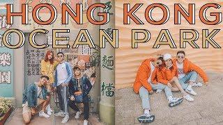 Hong Kong Ocean Park Attractions! (2018)