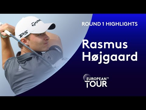 18 year old Dane Rasmus Højgaard shoots 5 under in Oman | 2020 Oman Open 2020