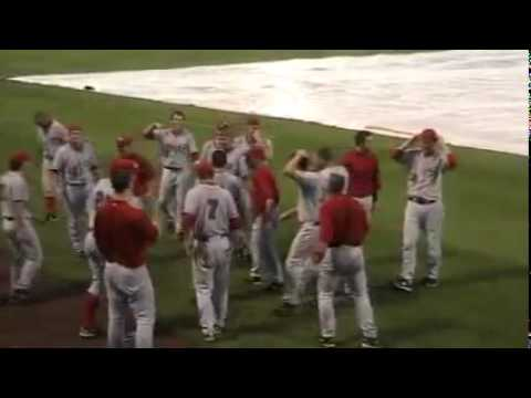 WKU vs. FAU Baseball Rain Delay Theatre Video