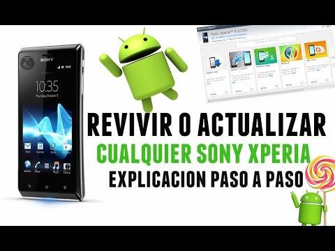 Revivir o Actualizar Cualquier Sony Xperia   Explicación paso a paso