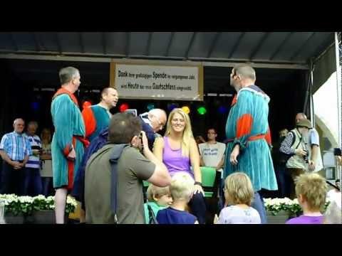 19. Gautschfest am Samstag, 20.08.2011 auf dem Markt in Haltern am See, Kornutin Nadin
