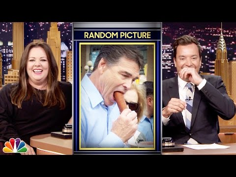 Random Picture Word Association with Melissa McCarthy