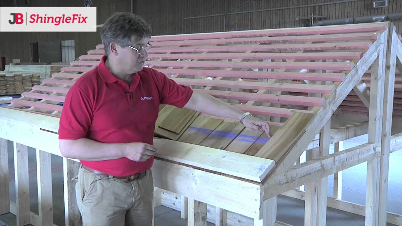 Jb Shinglefix Quick Installation Of Cedar Shingles Youtube