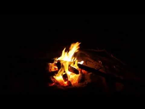 """Beachside Campfire"" Endless HD Nature Relaxation Video w/ Stereo Sounds"