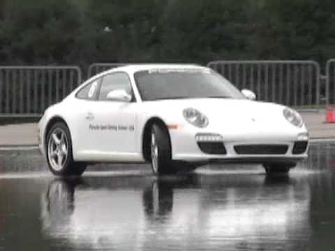 Porsche Performance Driving - Skid Pad