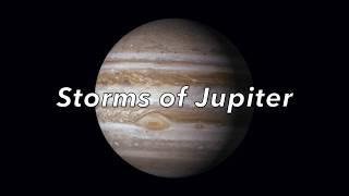 Storms of Jupiter